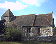 Church near Shoreham